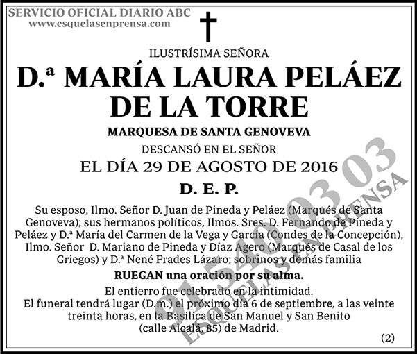María Laura Peláez de la Torre